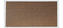 FALLER Sandstone Wall Card 250x125mm HO Gauge 170611