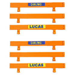SCALEXTRIC Armco Barriers 6 Yellow