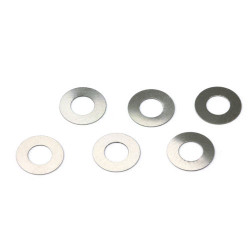 SLOT.IT 0.08mm Spacers for 4WD System (6) SICH94
