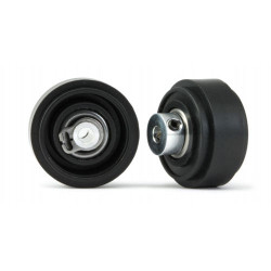 SLOT.IT 17.3mm Diameter Plastic Assembled Front Wheels 4WD (2) SIPA74AS