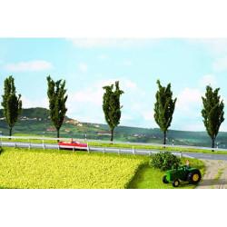 NOCH Rapefield Natur+ Mat 22x20cm w/ Grass Tufts (10) HO Gauge Scenics 07420