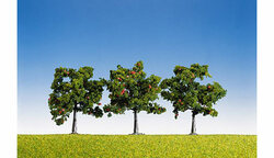 FALLER Apple Trees 80mm (3) HO Gauge Scenics 181403