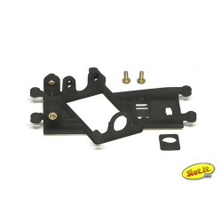 SLOT.IT AW LMP 0.5mm Offset Boxer/Flat Motor Mount EVO6 Medium SICH75
