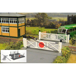 GAUGEMASTER Fordhampton Single Track Level Crossing Plastic Kit OO Gauge GM404
