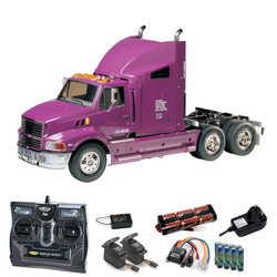 TAMIYA RC 56309 Ford Aeromax Truck 1:14 Kit + radio bundle