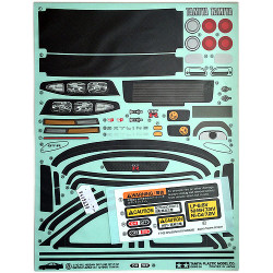 TAMIYA 9495839 Sticker Masking for GTR R33 58604 1825588 - RC Car Spares
