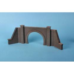 GAUGEMASTER Foam Walling - Double Tunnel Mouth & Walls OO Gauge Scenics GM199