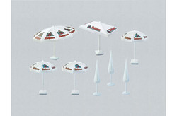 FALLER Parasols (8) Model Kit HO Gauge 180440