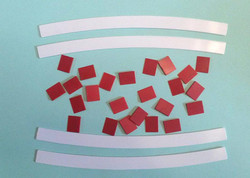 SLOT TRACK SCENICS K-R4 Kerb - Radius 4 - 22.5 x 4- for Scalextric