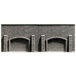 NOCH Extra Long Arcade Wall Profi Hard Foam 67x12.5cm HO Gauge Scenics 58059