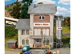 FALLER Industrial Mill Model Kit III HO Gauge 130228