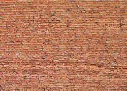 FALLER Clinker Brick Wall Card 250x125mm HO Gauge 170607