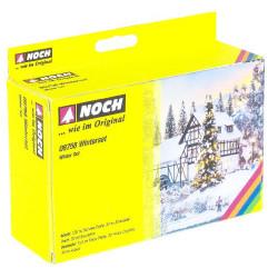 NOCH Winter Set HO Gauge Scenics 08758