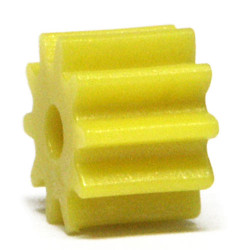 NSR Soft Plastic Yellow Pinion 10 SW No Friction 6.75mm (4) NSR7210