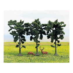 GAUGEMASTER Tree Set - Pine (3) OO Gauge Scenics GM187