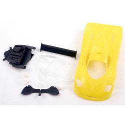NSR Mosler MT900R Ultralight Body Kit Yellow 14.6Gr NSR1320Y