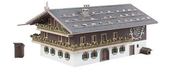 FALLER Large Alpine Farm Model Kit V HO Gauge 130553