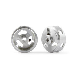 SLOT.IT Mg 17.3x8.2x1.5mm Hollow Wheels M2 Grub 0.8g (2) SIW17308215M