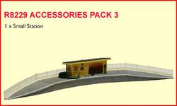 HORNBY R8229 Accessories Pack 3 Buildings
