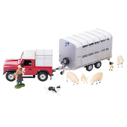 BRITAINS Sheep Farmer Set 1:32 Diecast Farm Vehicle 43138A2