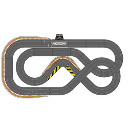 SCALEXTRIC Digital Bundle SL6 2018 - 2 Cars ARC PRO JadlamRacing Layout