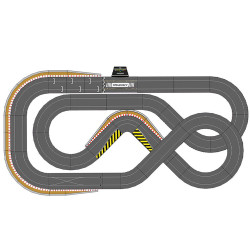 SCALEXTRIC Digital Bundle SL6 2018 - 4 Cars ARC PRO JadlamRacing Layout