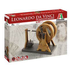 ITALERI Leonardo Da Vinci - Leverage Crane 3112   Model Kit