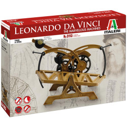 Italeri 3113 Da Vinci Marvellous Machines Rolling Ball Timer Plastic Model Kit