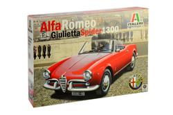 ITALERI Alfa Romeo Giulietta Spider 1300 3653 1:24 Car Model Kit