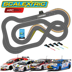 SCALEXTRIC Digital Bundle SL6 Pitlane 2019 - 4 Cars ARC PRO JadlamRacing Layout