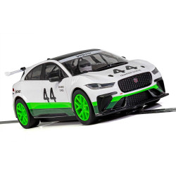 SCALEXTRIC Slot Car C4064 Jaguar I-Pace Group 44 Heritage Livery - NEW TOOLING