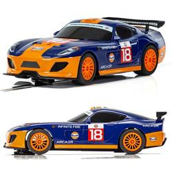 SCALEXTRIC Slot Car C4091 Team GT Gulf