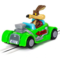 MICRO SCALEXTRIC Car G2165 Looney Tunes Wile E Coyote Car