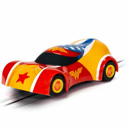 MICRO SCALEXTRIC Car G2168 Justice League Wonder Woman Car