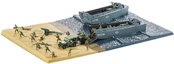 AIRFIX A50156A D-Day 75th Aniv Sea Assault Gift Set 1:76 Military Model Kit