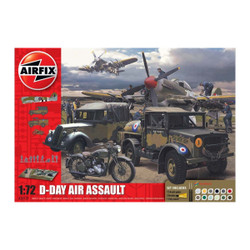 AIRFIX A50157A D-Day 75th Aniv Air Assault Gift Set 1:76 Military Model Kit