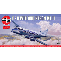 Airfix A03001V de Havilland Heron MkII 1:72 Plastic Model Kit