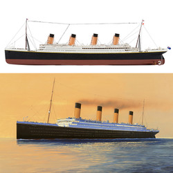 AIRFIX A50164A Medium Gift Set - RMS Titanic 1:700 Ship Model Kit