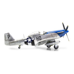 AIRFIX A05138 Nth American P51-D Mustang Filletless Tail 1:48 Aircraft Model Kit