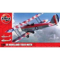 AIRFIX A04104 de Havilland DH82aTiger Moth 1:48 Aircraft Model Kit