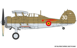AIRFIX A02052A Gloster Gladiator Mk.I/Mk.II 1:72 Aircraft Model Kit
