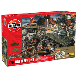 AIRFIX A50009A D-Day 75th Aniv Battlefront Gift Set 1:76 Military Model Kit