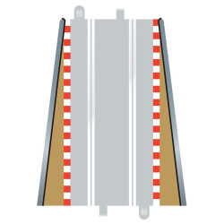 SCALEXTRIC C8233 1pr Lead In Sport Borders Barriers