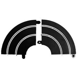 SCALEXTRIC Sport Track C8201 2x Rad1 Sport Hairpin Curve