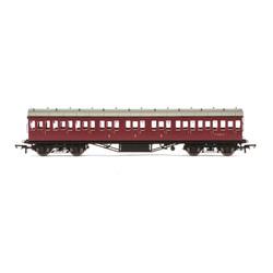 HORNBY Coach R4689A BR 57 Stanier Non-Corridor Comp M16587M - Era 5