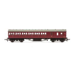 HORNBY Coach R4691B BR 57 Stanier Non-Corridor 3rd Brake M20752M - Era 5