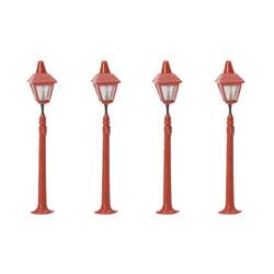 HORNBY Skaledale R8673 Platform Lamps x4