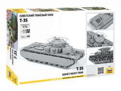 ZVEZDA 5061 Soviet Heavy Tank T-35 1:72 Tank Model Kit