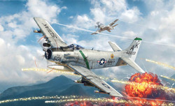 ITALERI 2788 A01H Skyraider 1:48 Aircraft Model Kit