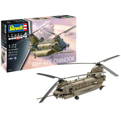 REVELL MH-47 Chinook 1:72 Helicopter Model Kit 03876
